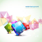 Stylish shiny colorful vector — Stock Vector