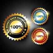 Money back guarantee — Stock Vector