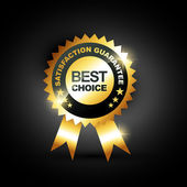 Best choice vector — Stock Vector