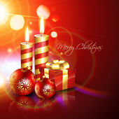 Christmas background — Vector de stock