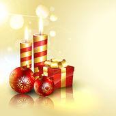 Frohe weihnachten-hintergrund — Stockvektor