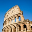 Colosseum with blue sky — Stock Photo #6917551
