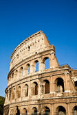 Colosseum with blue sky — Stock Photo
