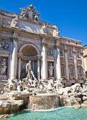 Fontana di trevi - rzym, włochy — Zdjęcie stockowe