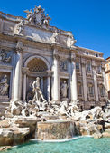 Fontana di trevi - roma, italia — Foto Stock