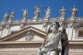 バチカン市国の彫像 — ストック写真