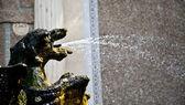 Smoki fontanna, villa d'este - tivoli — Zdjęcie stockowe