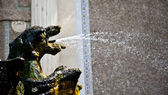 Dragons fountain, Villa d'Este - Tivoli — Stock Photo