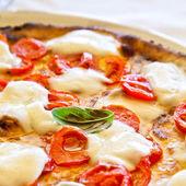 Pizza in Naples — Stock Photo