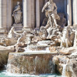 Fontana di Trevi - Rome, italy — Stock Photo