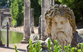Roman villa - Tivoli — Stock Photo