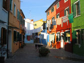 Courtyard in Burano — Stock Photo