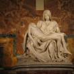 Pieta by Michelangelo — Stock Photo #7685037