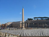 Saint Peter's Square — Stock Photo