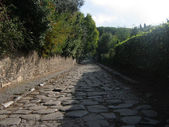 Appian Way-Via Appia — Stock Photo
