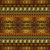 African background with ethnic ornaments — Stockfoto