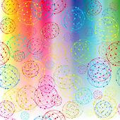 Абстрактный фон с шарами — Стоковое фото