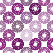Seamless pattern with abstract flowers — Stock Photo