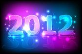 2012 New Year Card — Stock Vector