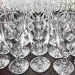 Table wine glasses for wine — Stock Photo #7840921