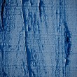 Blue paint on wood background — Foto Stock