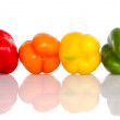 Mixed bell peppers — Stock Photo