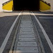 Two way road tunnel — Stock Photo