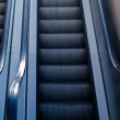 escalators — Stock Photo