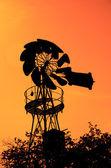 Old Farm Windmill — Stock Photo