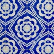 Traditional Portuguese glazed tiles - Stockfoto
