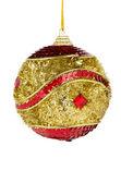 Christmas ball isolated — Photo