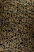 Golden abstract arabesque — Stock Photo