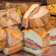 Party Sandwich — Stock Photo