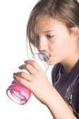 Thirsty Girl — Stock Photo