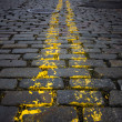 Cobblestone Street - Stock Photo