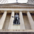 Stock Photo: Federal Hall NYC