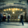 Stock Photo: Nostalgic NYC Grand Central Station Entrance