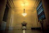 Vintage Grand Central Station Waiting Area — Stock Photo