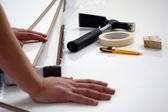 Werknemer tools — Stockfoto