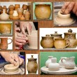 Stock Photo: Pottery handmade