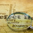 Defect List — Stockfoto