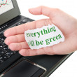 Everything will be green — Stock Photo