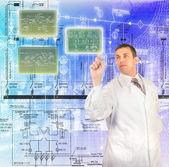 Innowacyjne technologie komputerowe projektowanie — Zdjęcie stockowe