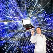 La technologie internet — Photo