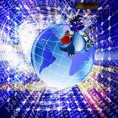 La más reciente tecnología de la internet — Foto de Stock