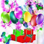 Kutlama hediyeleri — Stok fotoğraf