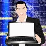The technology Internet — Stock Photo