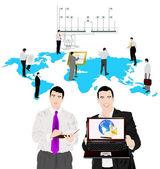 As tecnologias de internet — Vetorial Stock