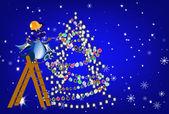New Year's holiday — Stock Photo