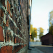 Oswiecim Wall — Stock Photo